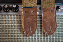Brown Western Guitar Strap
