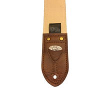 Brown & Orange Southwest Vintage Ribbon Guitar Strap