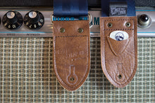 Classic Seatbelt Guitar Strap - Navy