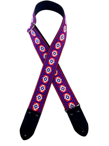 RW&B Ribbon Guitar Strap