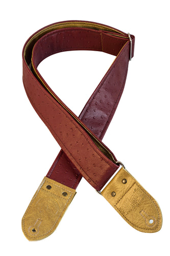 The Redbird Guitar Strap