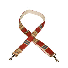 Red & Tan Saddle Blanket Multi Purpose Skinny Strap