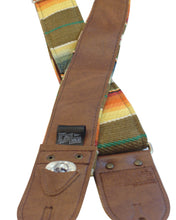 Southwest Multi Saddleblanket Guitar Strap