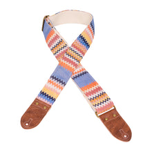 Southwest Waves Saddle Blanket Guitar Strap