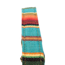 Turquoise Saddle Blanket Multi Purpose Skinny Strap