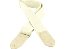 The White Western Guitar Strap