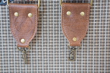 Brown X Vintage Ribbon Camera Strap