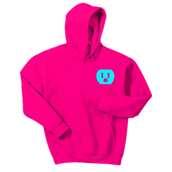 The Plug Hooded Sweatshirt [Neon Pink]