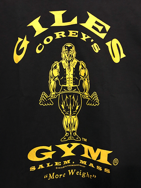 Giles Corey's Gym T-Shirt