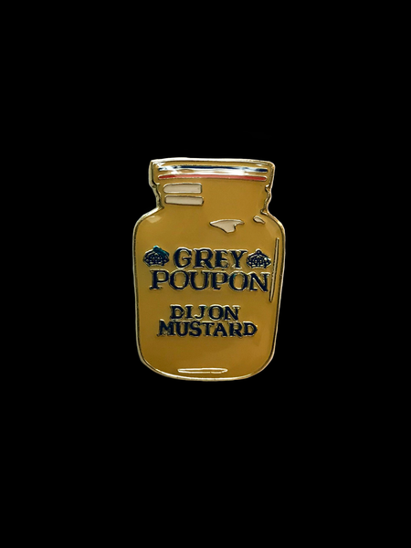 Grey Poupon Pin