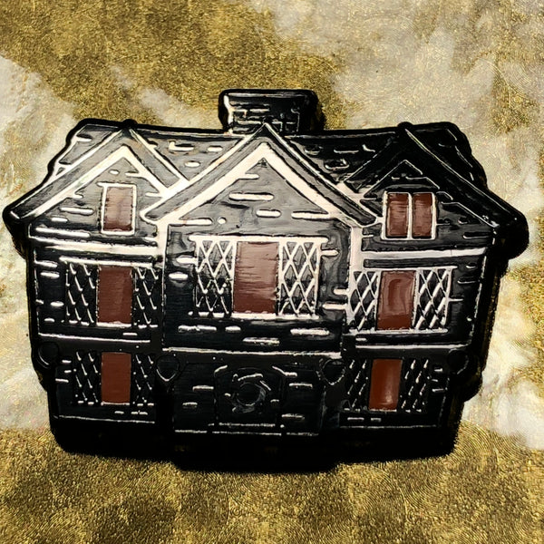 Witch House 2 Enamel Pin