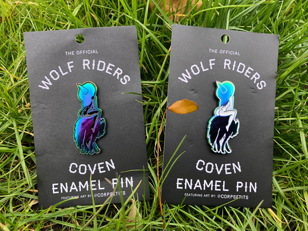 Wolf Riders Coven - Enamel Pin