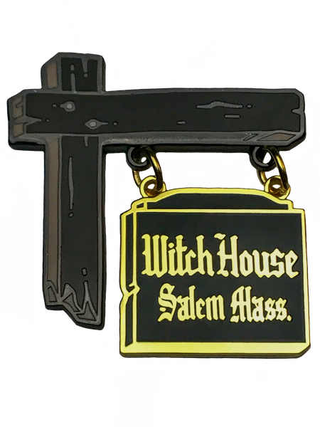The Witch House Enamel Pin