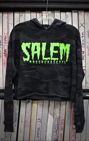 Shook Slime Cropped Hoody(camo edition)