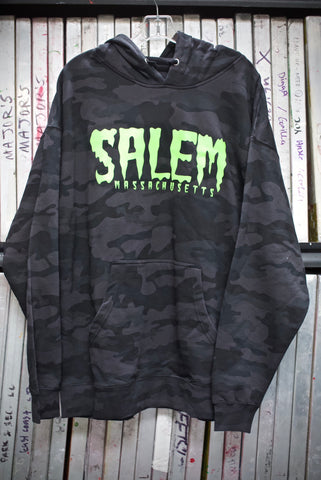 Shook Slime Mid-Weight Hoody(camo edition)