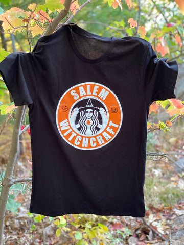 Salem Witchcraft (Pumpkin Spice Latte edition)T-Shirt