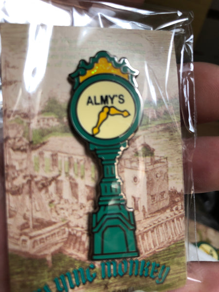 Almy's Clock - Hard Enamel Pin