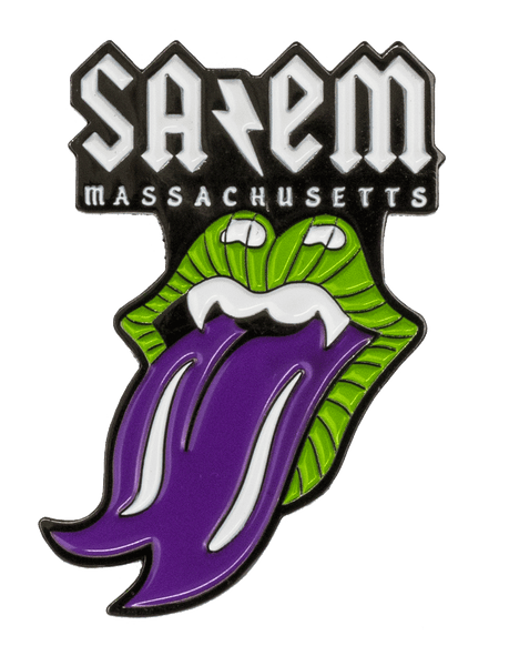 Salem Metal Enamel Pin