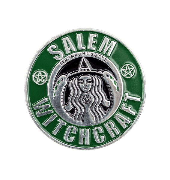 Salem Witchcraft Enamel Pin