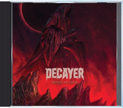Decayer - Shades of Grief - CD