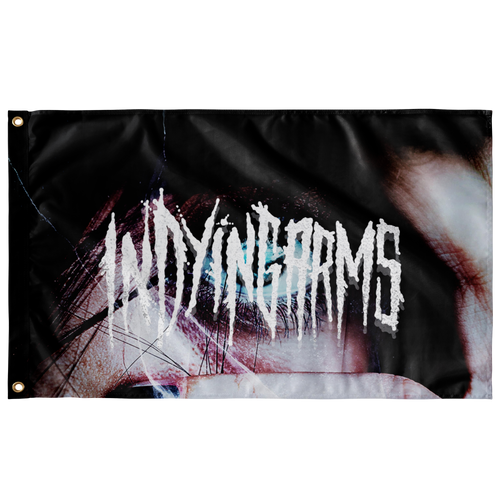 In Dying Arms - Wall Flag