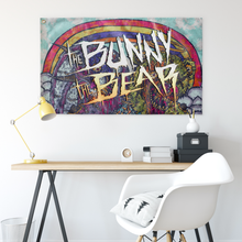 The Bunny The Bear - Afterglow Wall Flag