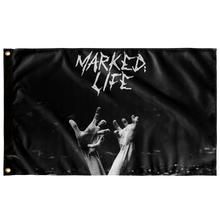 Marked;Life - Loner Wolf Flag