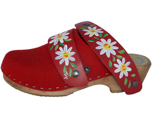 Hand Painted Snap Straps for Tessa Clogs - made in Minturn