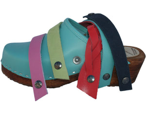 Tessa Snap Straps - accessorize your clogs, made in Minturn, CO