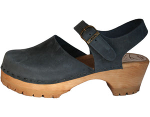 Lugged Mountain Sole Tessa Clogs - made in CO