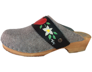 Swedish Clog - felt wool clog