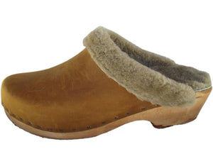 Shearling Clogs - made in Minturn