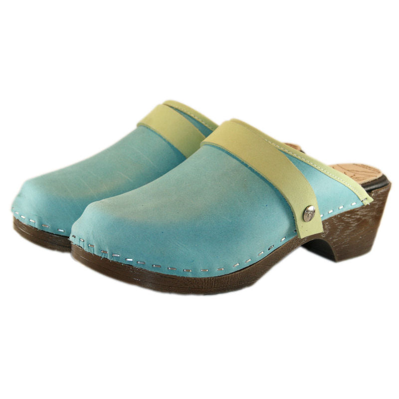 Flex Aqua Distressed Snap Strap