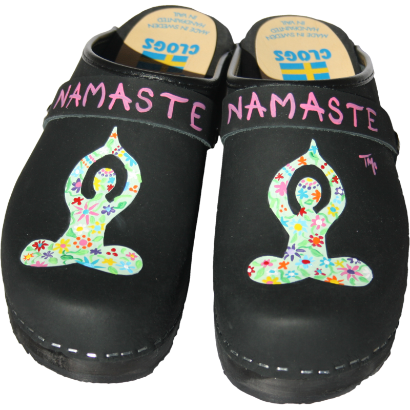 Traditional Heel Black Namaste