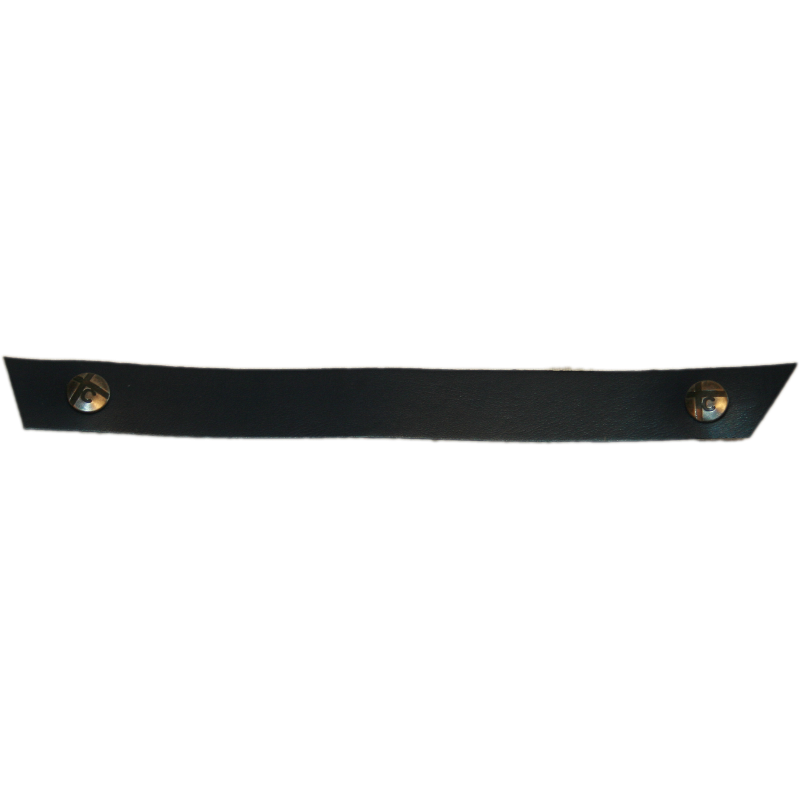 Black Narrow Tessa Snap Strap