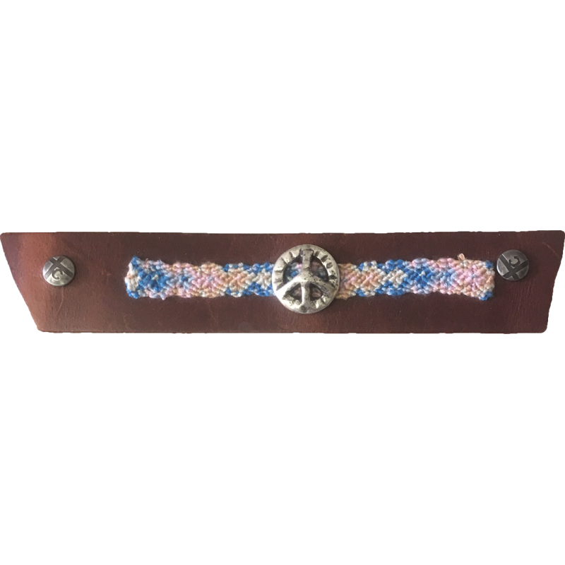Limited Edition Peace Boho Snap Strap