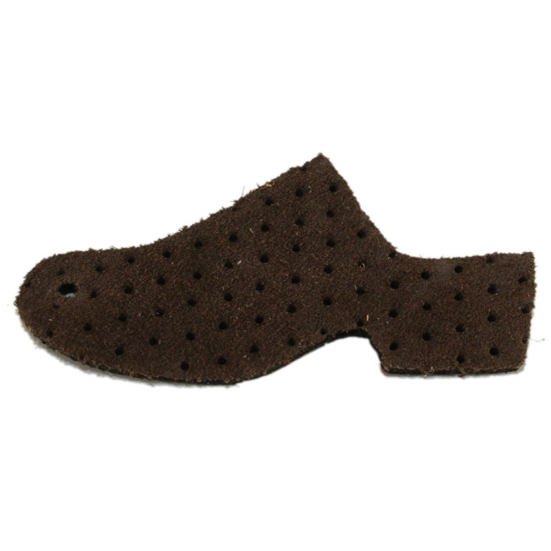 Traditional Heel Perforated Suede - Sale 30 % off