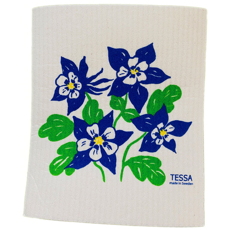 Tessa Columbine Dish Cloth
