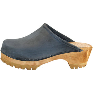 Denim Blue Mountain Clog Plain
