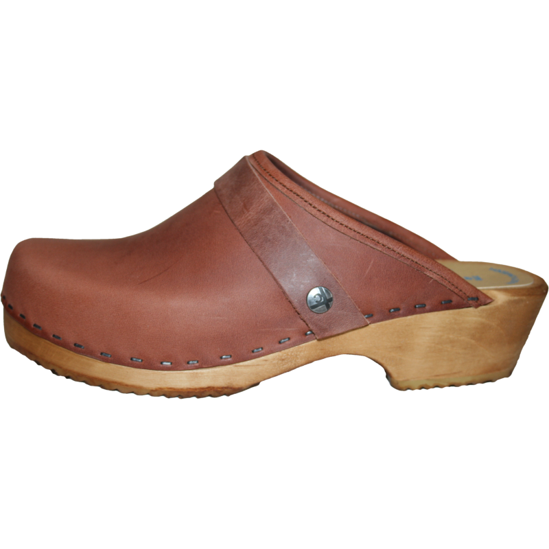 Traditional heel Dusty Cinnamon Clog