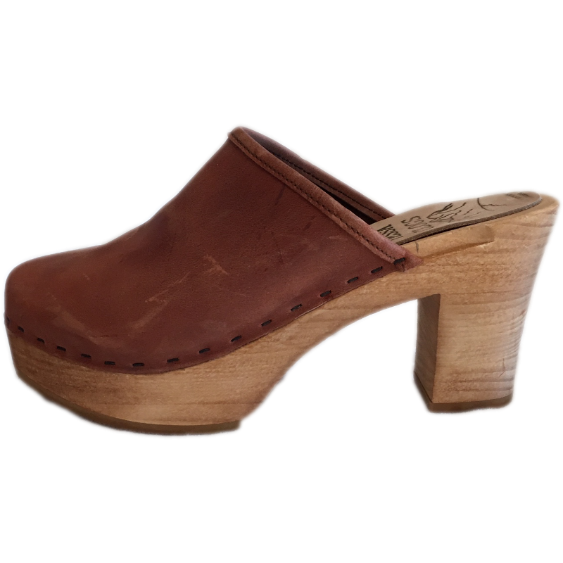 Dusty Cinnamon Ultimate High Clogs
