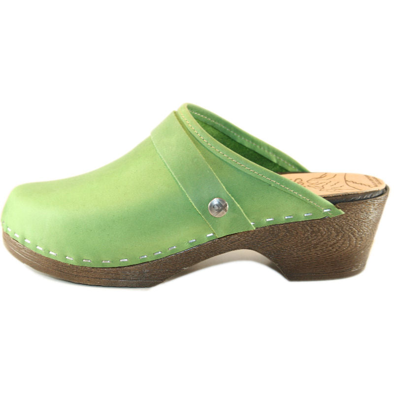 Grass Green Flex Clog Snap Strap