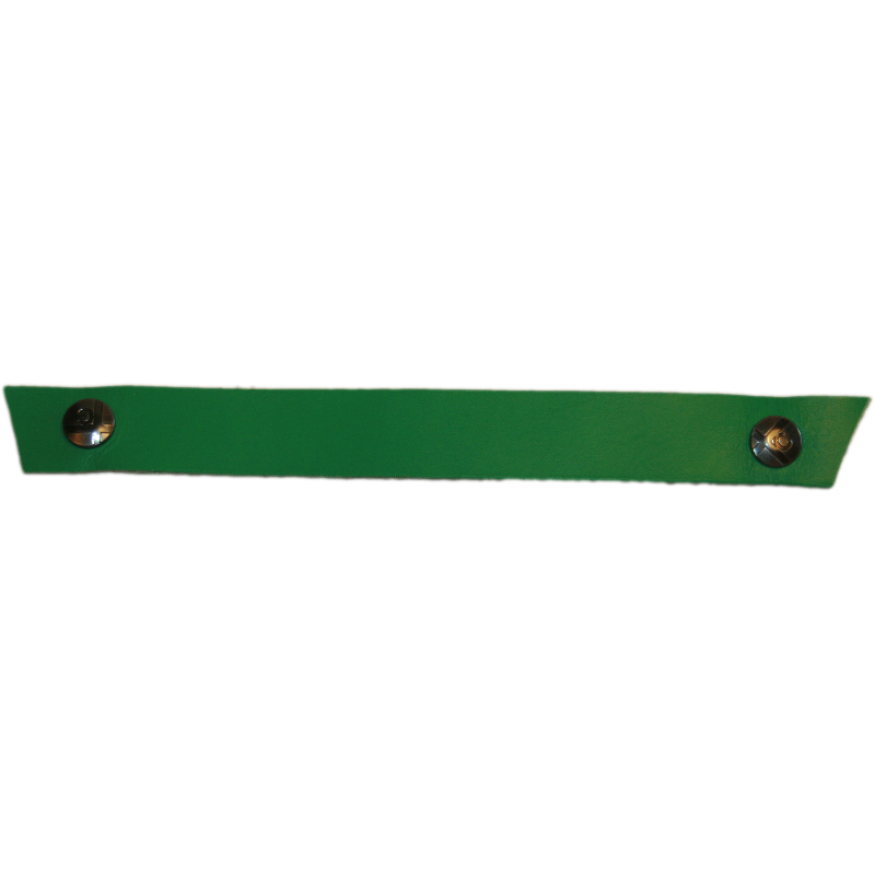 Tessa Narrow Grass Green Snap Strap