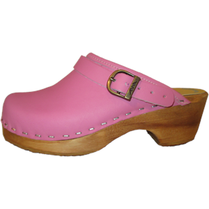 clog with heel strap, made in Colorado