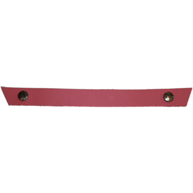 Tessa Narrow Hot Pink Snap Strap