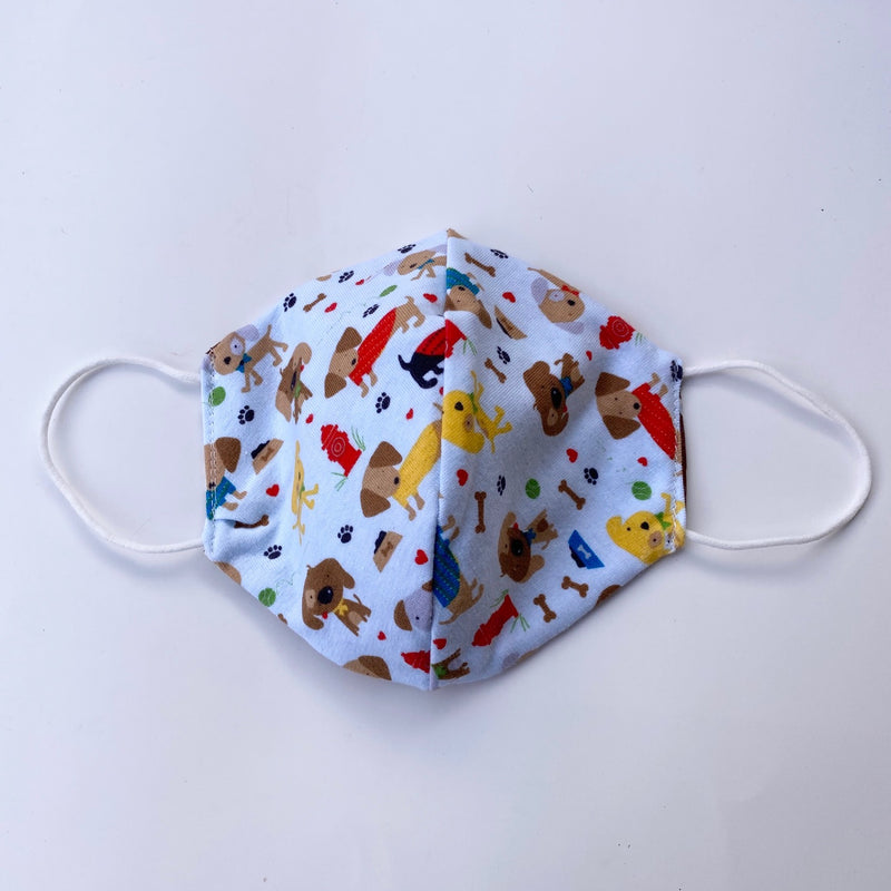 Tessa Reversible Kids Face Mask in your choice of fabric