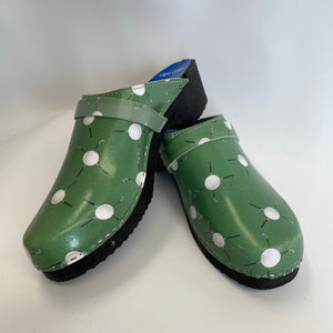 Cape Clog Traditional Sole Printed Golf Pattern size 42