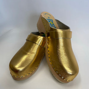 Traditional Heel Gold size 38 - Factory Seconds