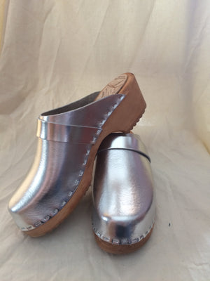 Silver Clogs - made in Minturn, CO