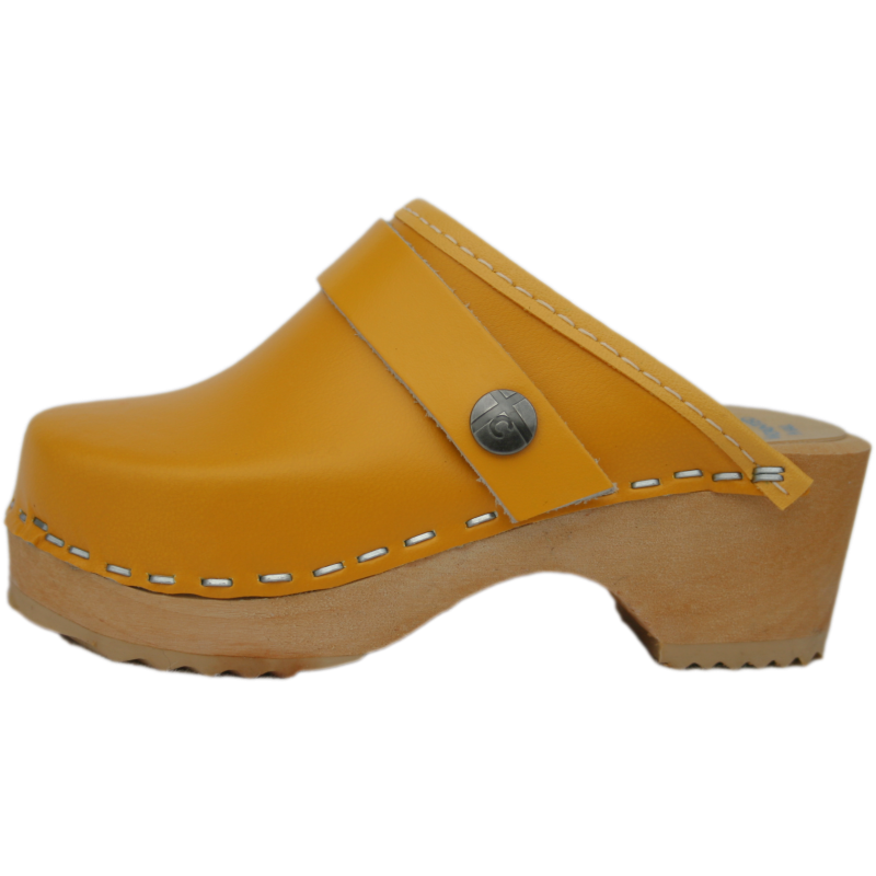 Children's Tessa Clogs in Yellow